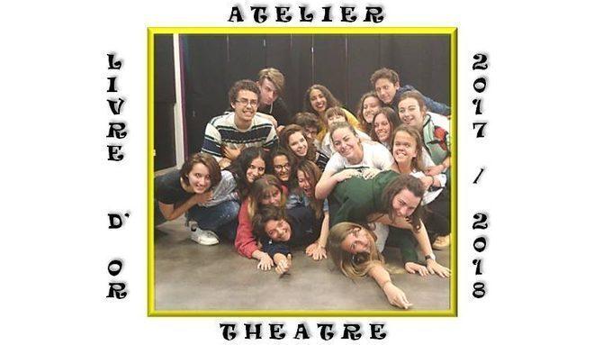 Livre d'Or de l'Atelier Théâtre 2017-2018 au CDI
